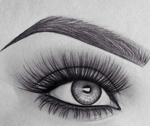 Art Beauty Black And White Classy Drawing Eye Eyebrow Eyes