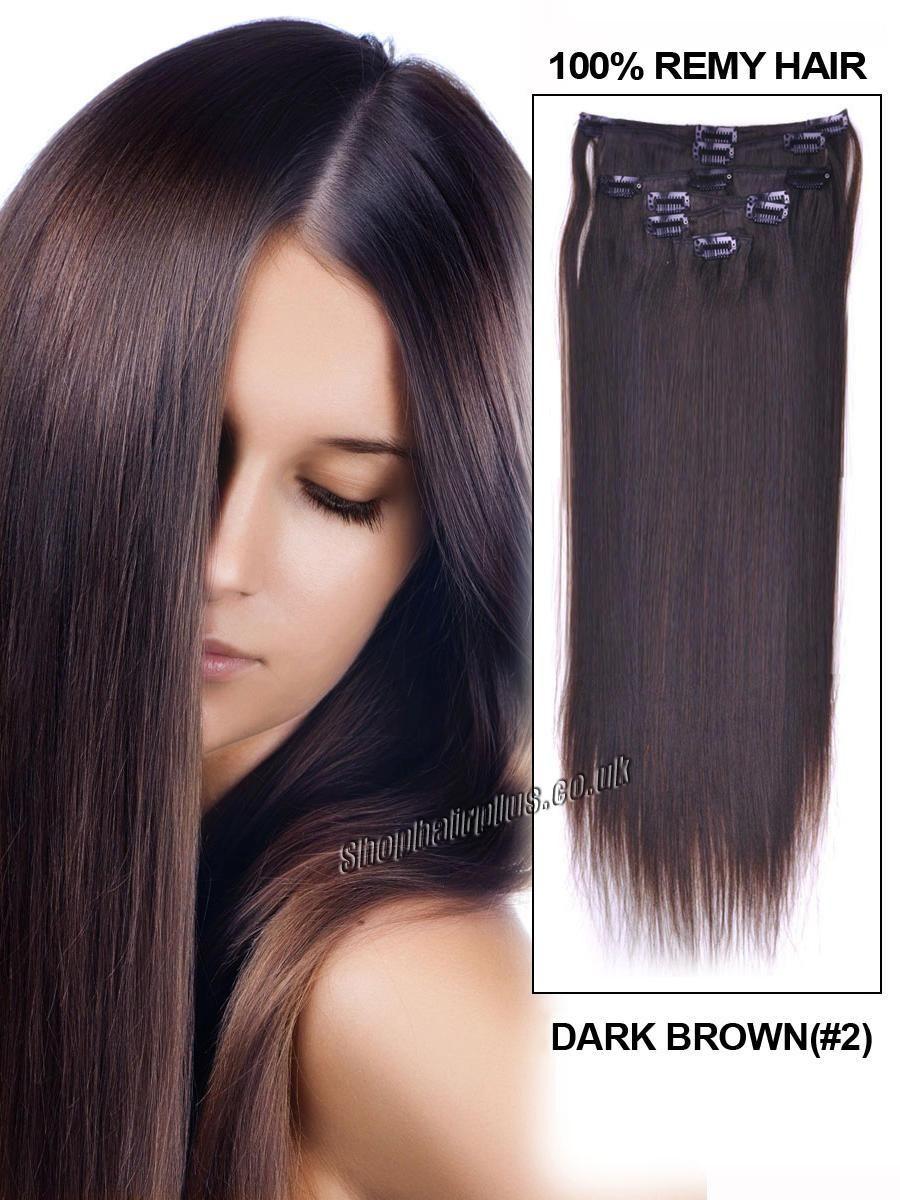 Clip In Human Hair Extensions Coafuri Pinterest Hair