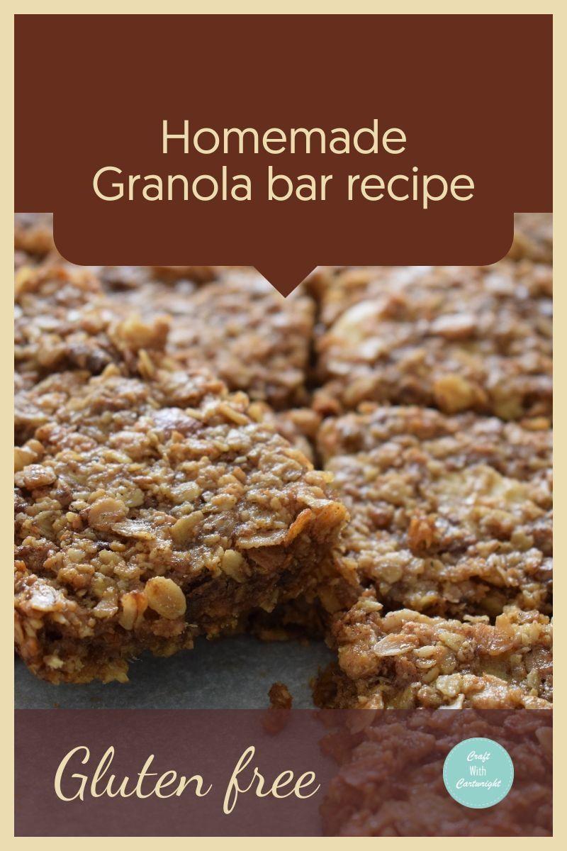 Granola bar | Recipe in 2020 | Homemade granola bar recipe ...