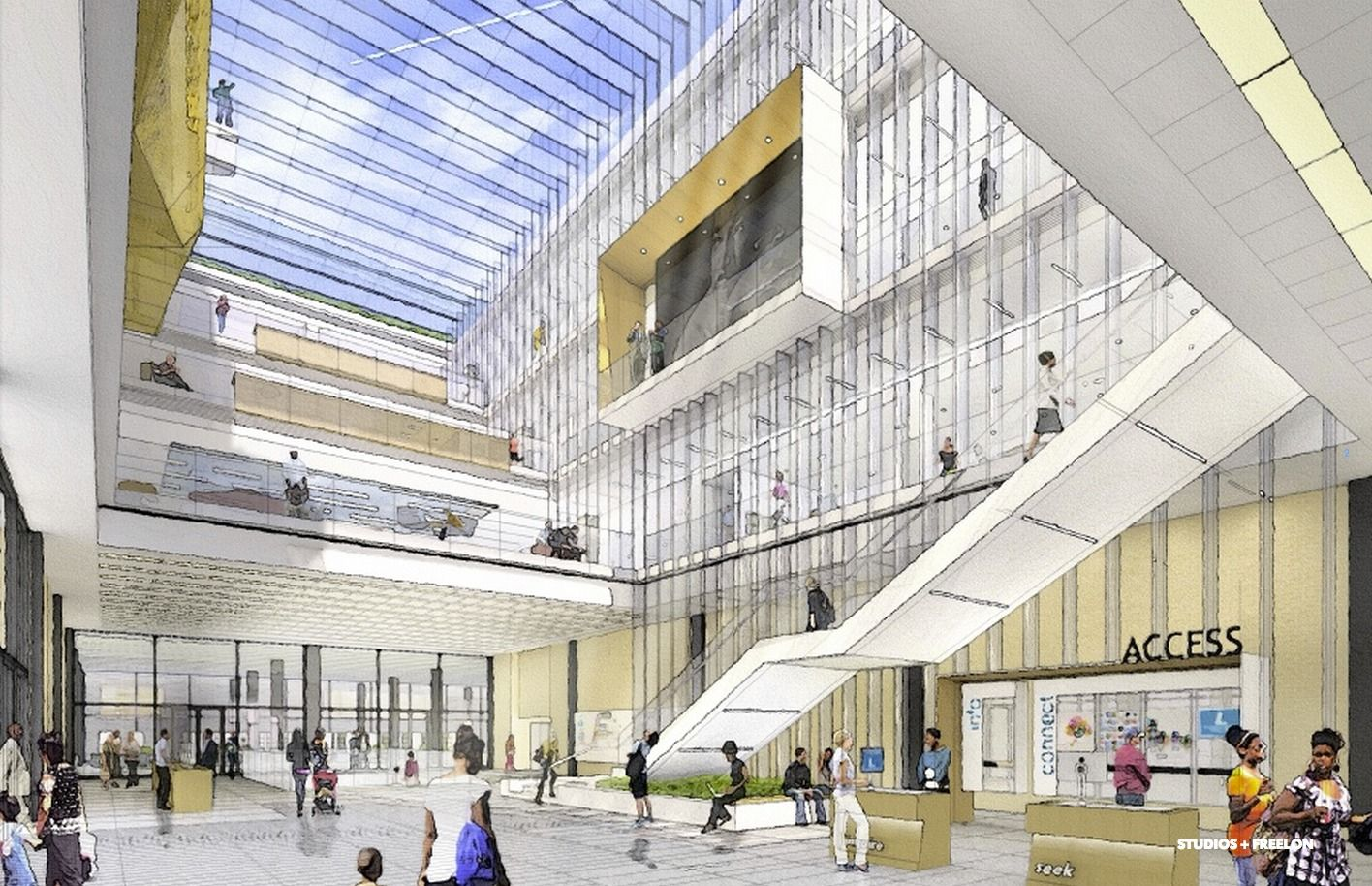 Shortlisted Concepts Unveiled for MLK Jr  Memorial Library