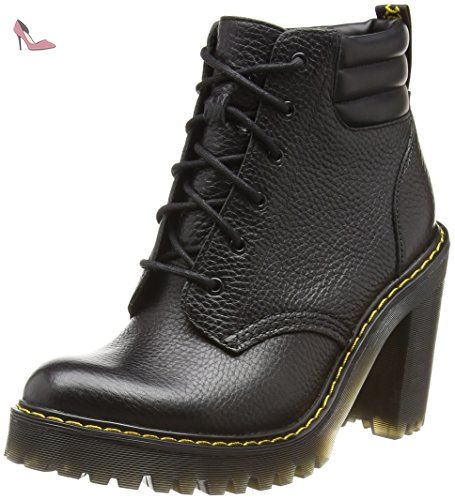 Emmeline Pol. Smooth, Chaussures Bateau Femmes - Rouge - Rouge (Cerise), Taille 43 EUDr. Martens