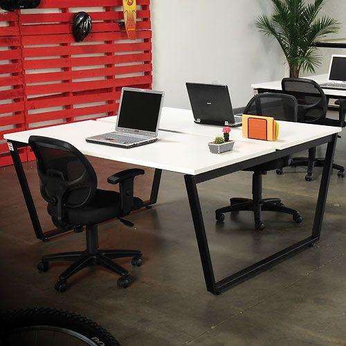 double office desk. Computer Furniture | Desks \u0026 Workstations Interion™ Open Office Desk, Double Sided Desk