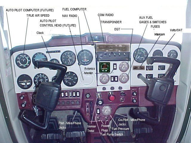 Cessna Cockpit Diagram Wiring Diagram And Electrical Schematic