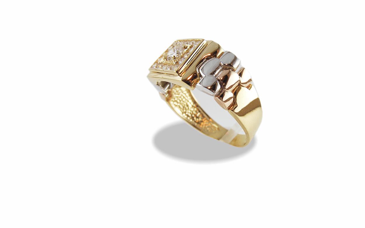 cc39e1179ca1 Anillos de oro para hombre.