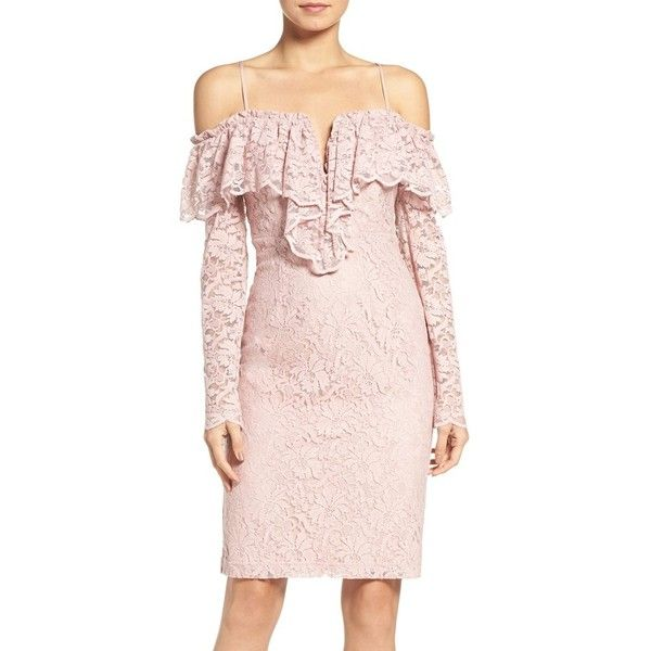 Women's Bardot Allessandra Lace Sheath Dress (334.085 COP