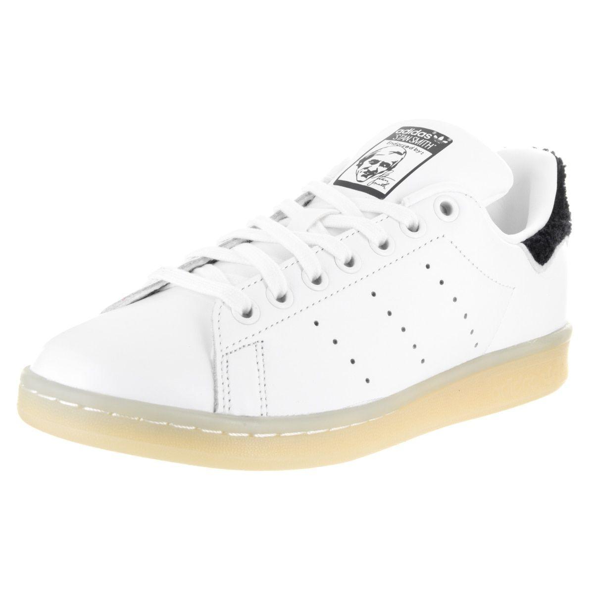6703d2054b8 Adidas Women s Stan Smith W Originals White Leather Casual Shoe (7 ...