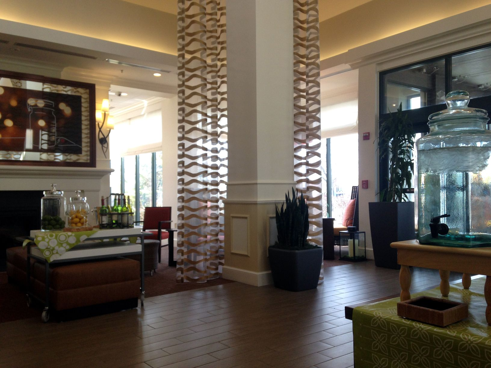 Our Newly Renovated Lobby!