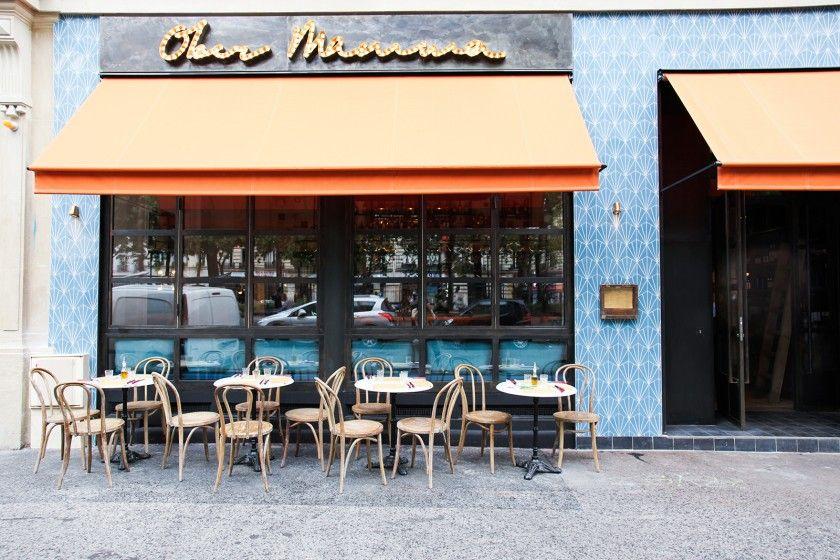 Ober Mamma Ou L Italie A Paris The Socialite Family Facade Restaurant Restaurant Parisien Restaurants Italiens