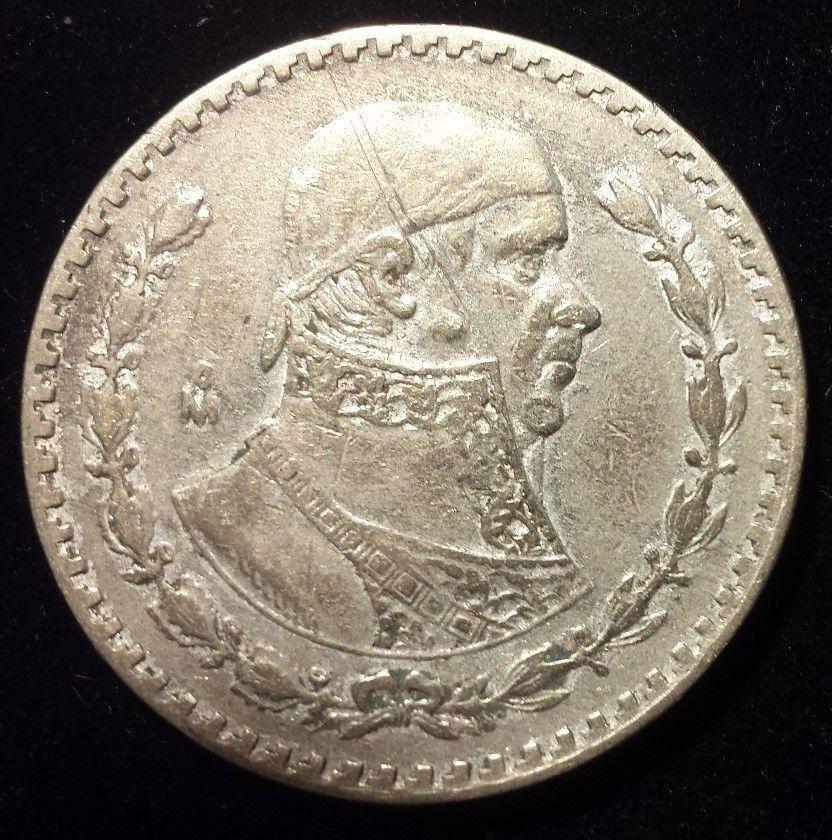1960 Mexico Silver Peso Cool Coin Libertad Independencia Morelos Nice Big Money Coins Libertad Cool Stuff