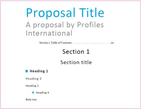 Business Proposal Heading Design Workies Pinterest Business