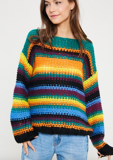 High low knit sweater size S/M I originally purchased this