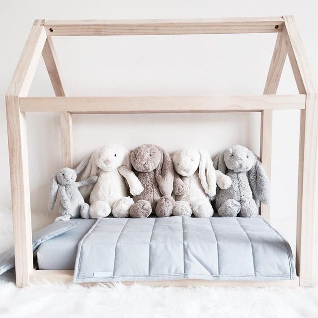 Five little bunnies all in a row. So cute @lexi_boo_harpy_doo! You can find the Bella Buttercup Little Place (also available in pink) on our virtual shelves, along with the Jellycat bunnies. 💕