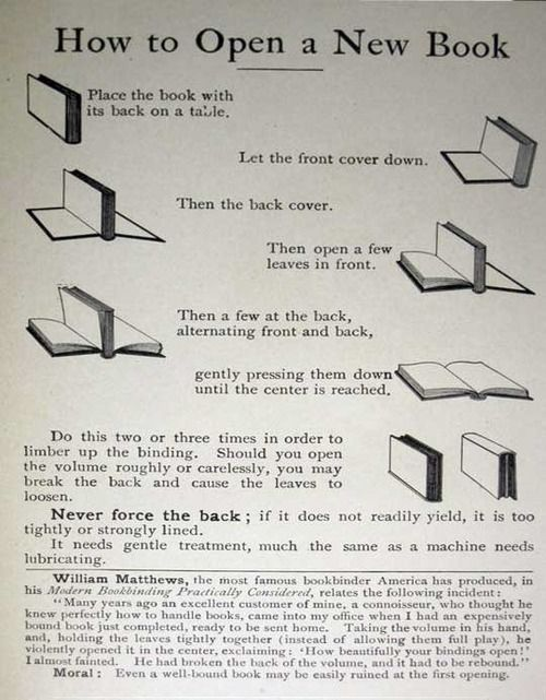 You've been opening books wrong your entire life