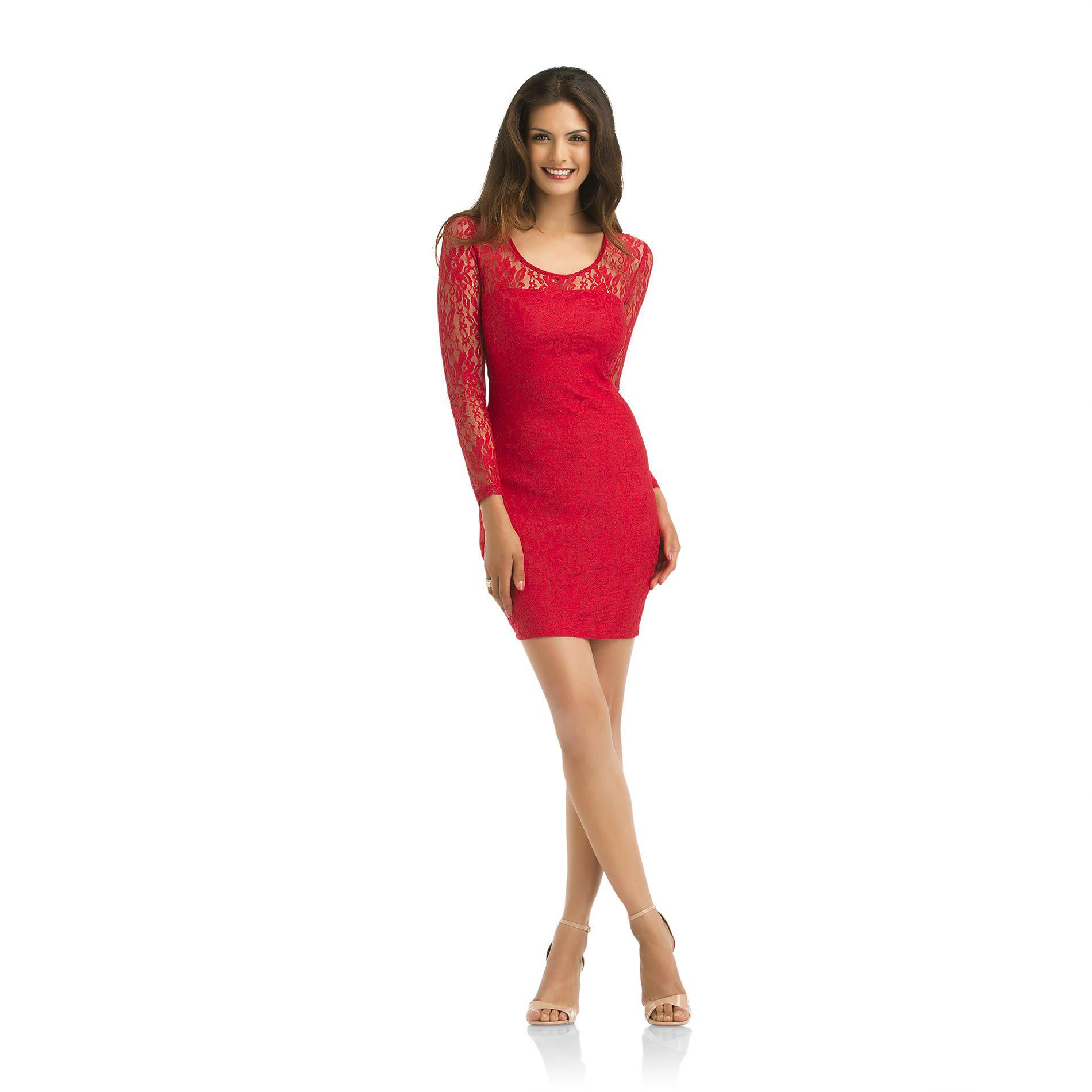 60e23f87fe2 Kardashian Kollection- -Women s Lace Body-Con Dress-Clothing-Women s-Dresses