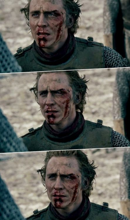 Tom Hiddleston (in The Hollow Crown) Such a great actor...