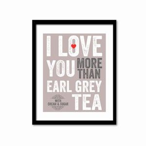 Earl Grey 8x10 Gray, $19, now featured on Fab.