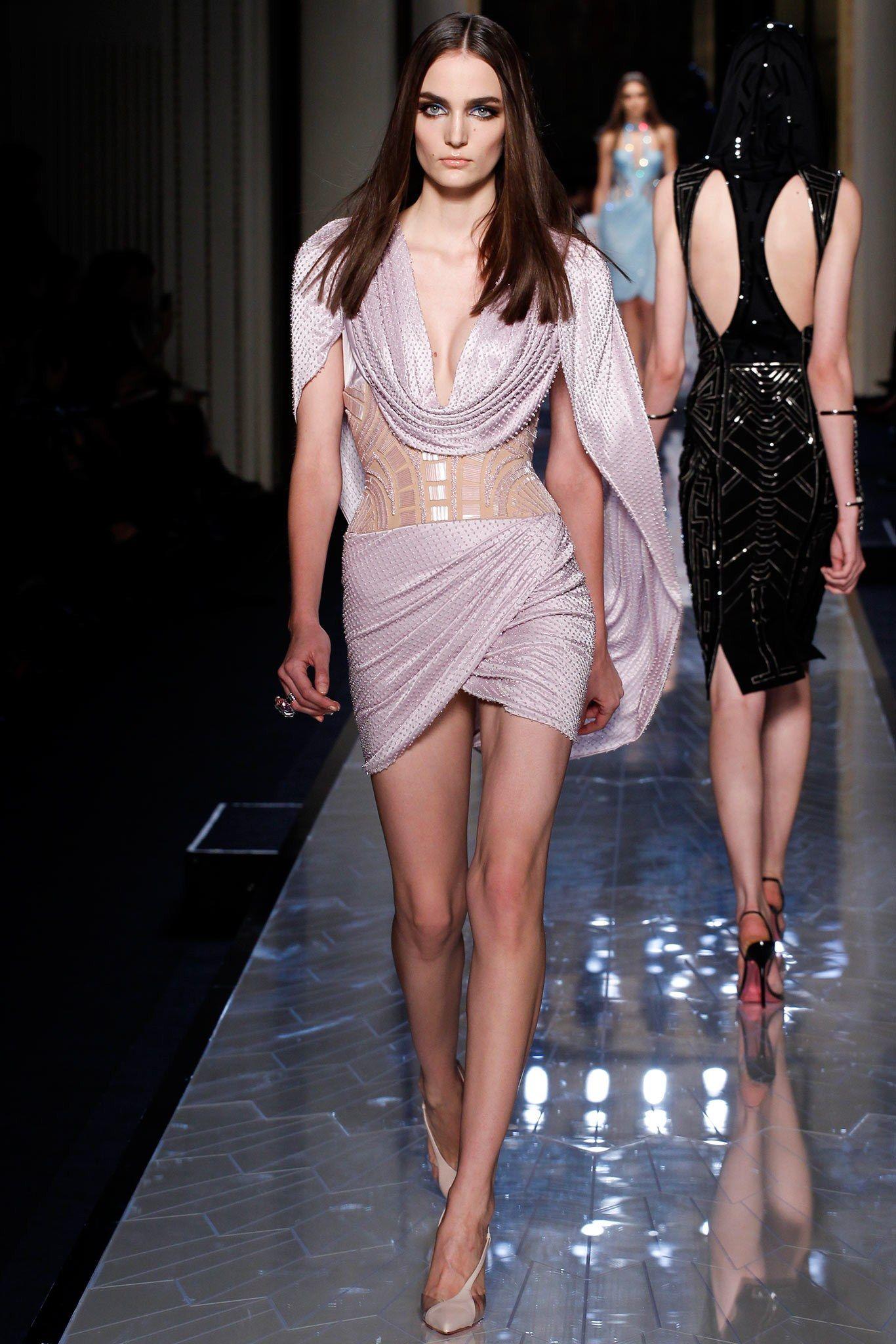 Atelier Versace Spring 2014 Couture Fashion Show - Zuzanna Bijoch (Next)