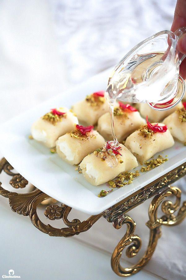 Halawet El Jibn (Sweet Cheese Rolls) | Recept | Middle ...