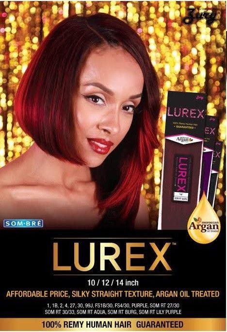 Zury Sis 100 Remy Human Hair Weave Lurex 10 24 Inch Bogo