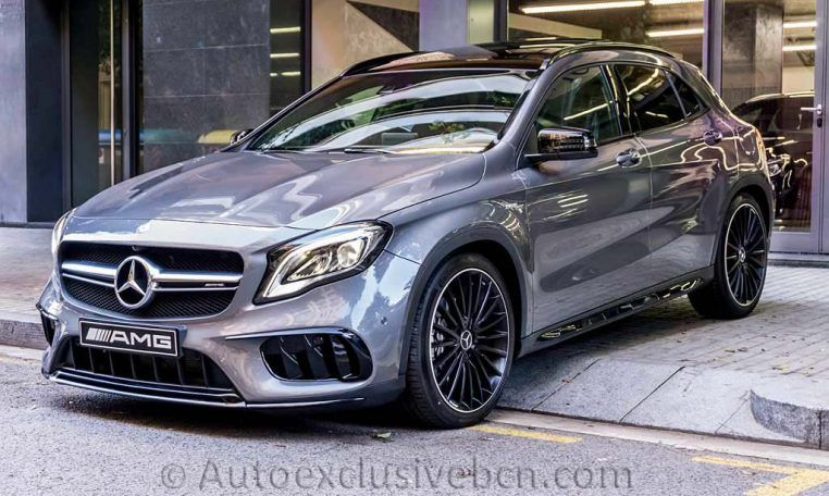 Mercedes Gla 45 Amg 4m 2018 Auto Exclusive Bcn Autos Autos Modernos Mercedes