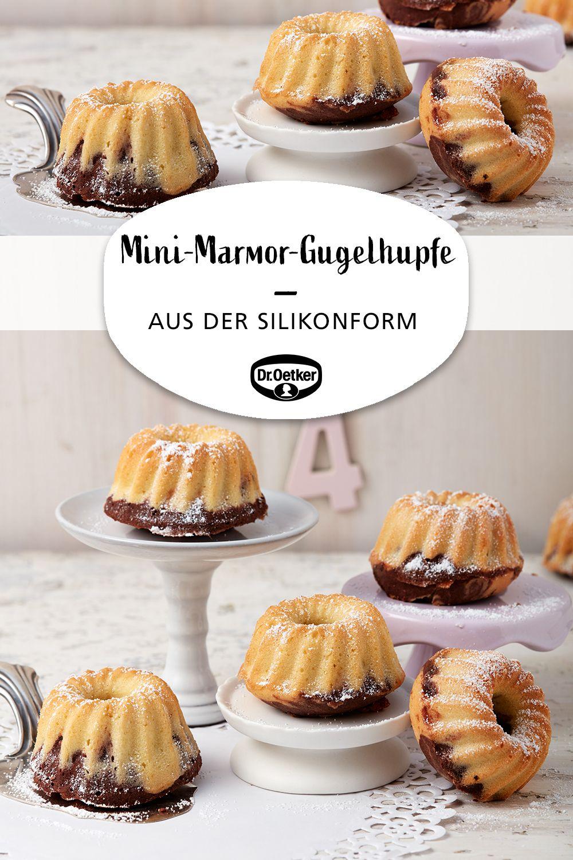 Mini Marmor Gugelhupfe Aus Der Silikonform Rezept Kuchen Und Torten Einfacher Nachtisch Kuchen Kindergeburtstag Schnell