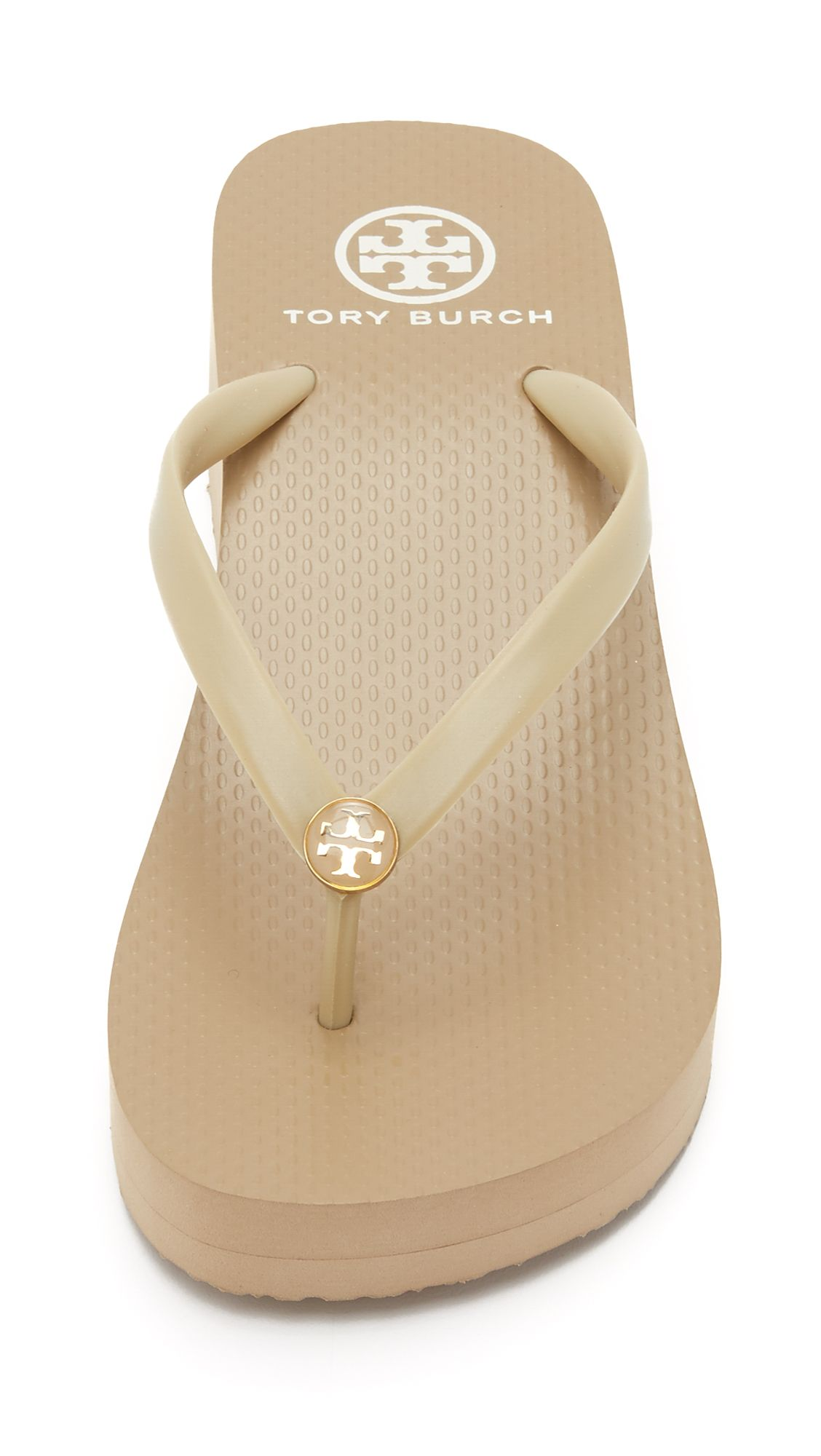 dfe77727b551 TORY BURCH Rubber Wedge Flip-Flop