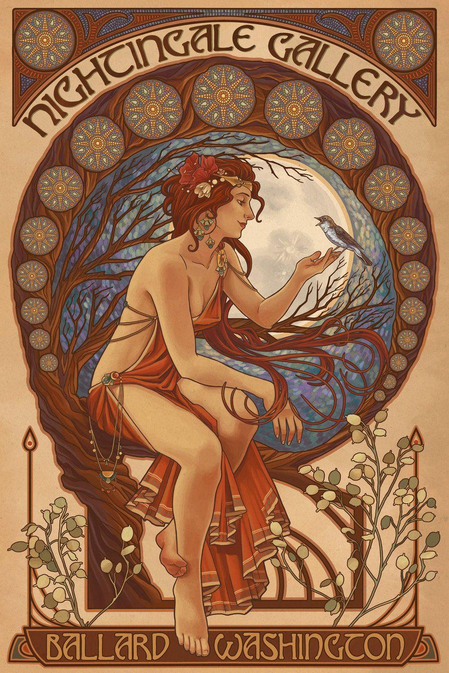 Nightingale Gallery Poster by Chronoperates.deviantart.com on @deviantART
