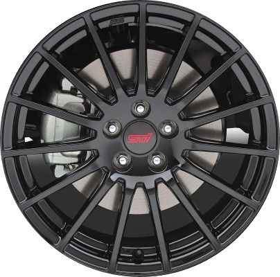Aly68837 Subaru Crosstrek Wheel Black Painted B3110fj030 Subaru Crosstrek Subaru Wheel Rims