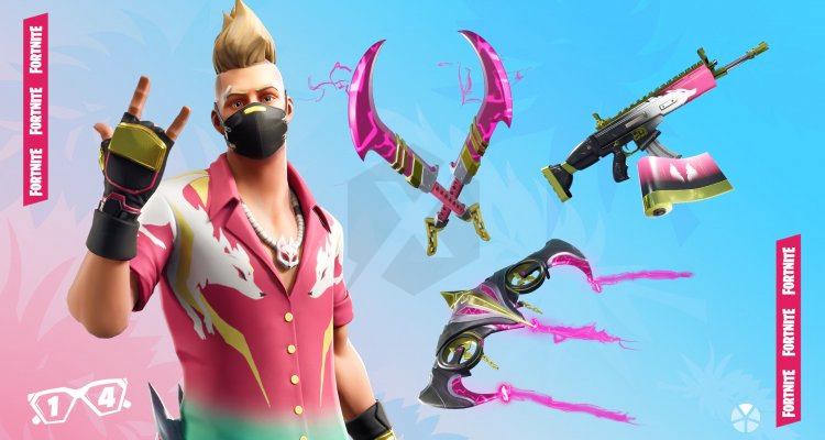 Fortnite 14 Days In The Summer It Comes In The Summer As The Skin