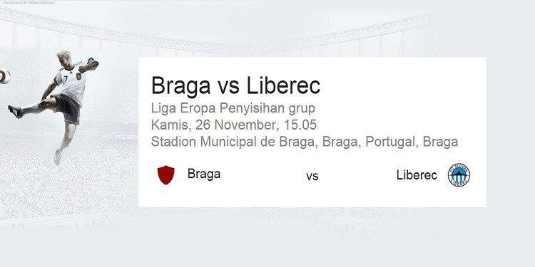 Prediksi Bola Sporting Braga vs Liberec 27 November 2015