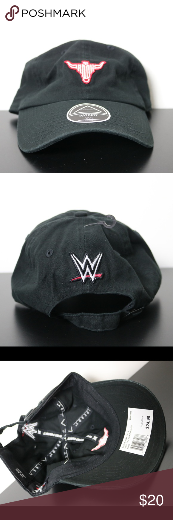 New WWE The Rock Dad Hat WWF Brand new WWE Accessories Hats 6d5348c52d8