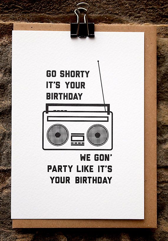birthday card retro birthday hip hop all my pins pinterest