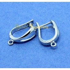 8aa9ae2e4c739 Швензы-листок-сер (Milano)   material / метал   Bracelets, Hoop ...