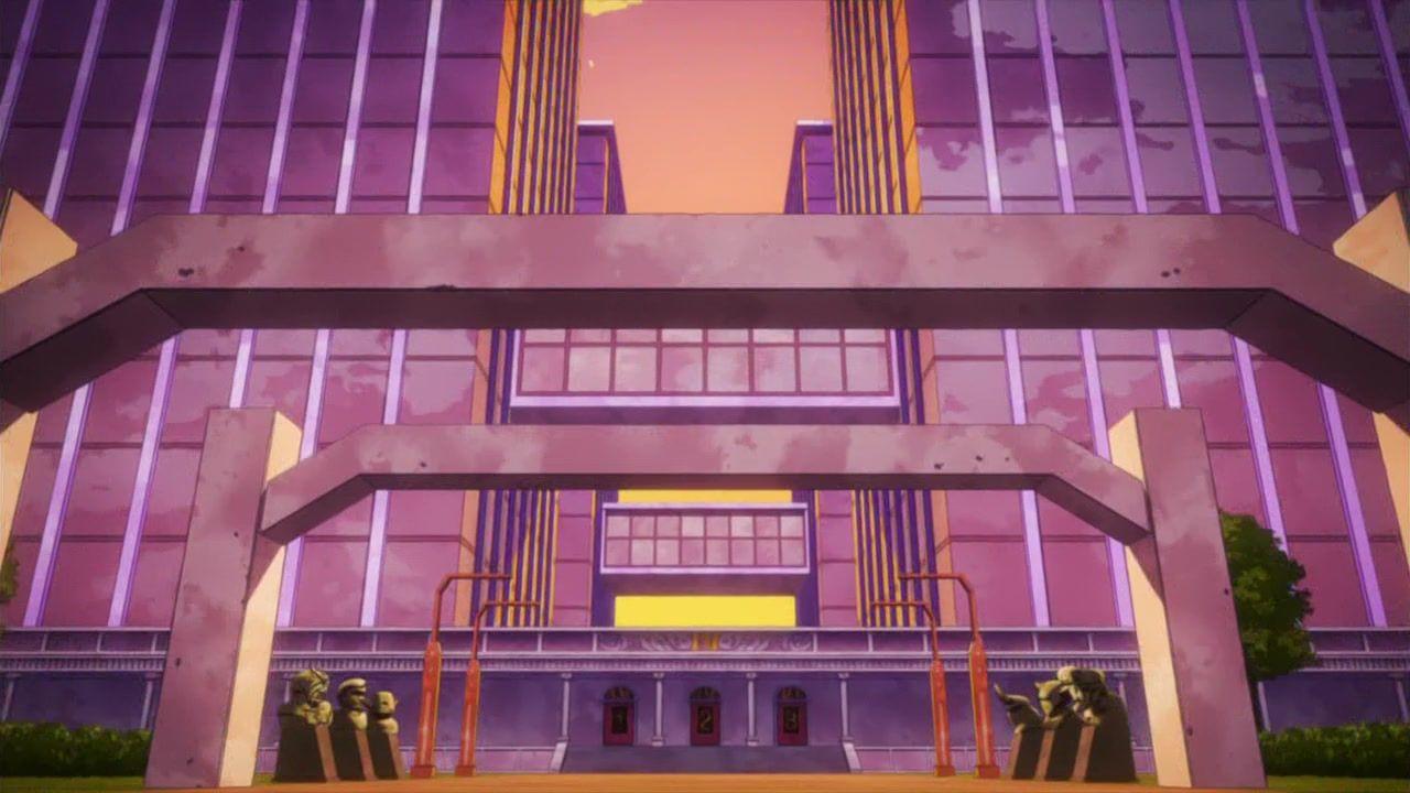 Undefined Scenery Background Cool Illusions My Hero Academia Manga