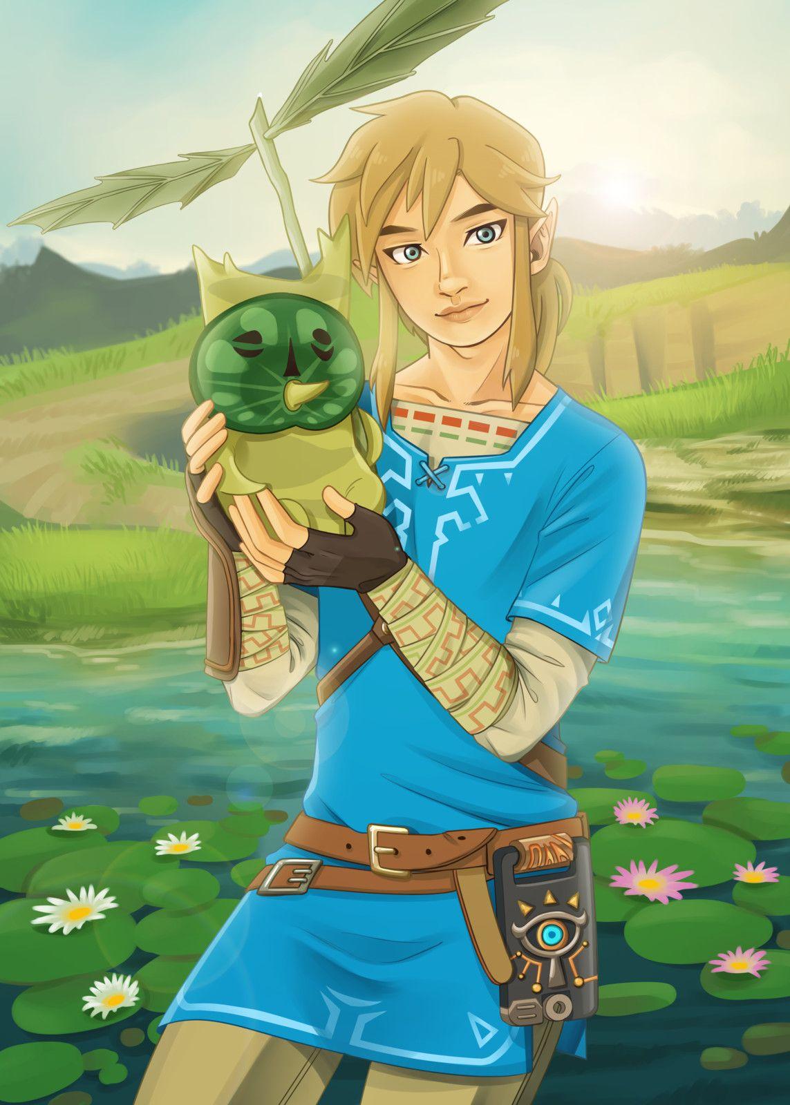 A Freya Torres Legend Of Zelda Legend Of Zelda Breath Favorite Character