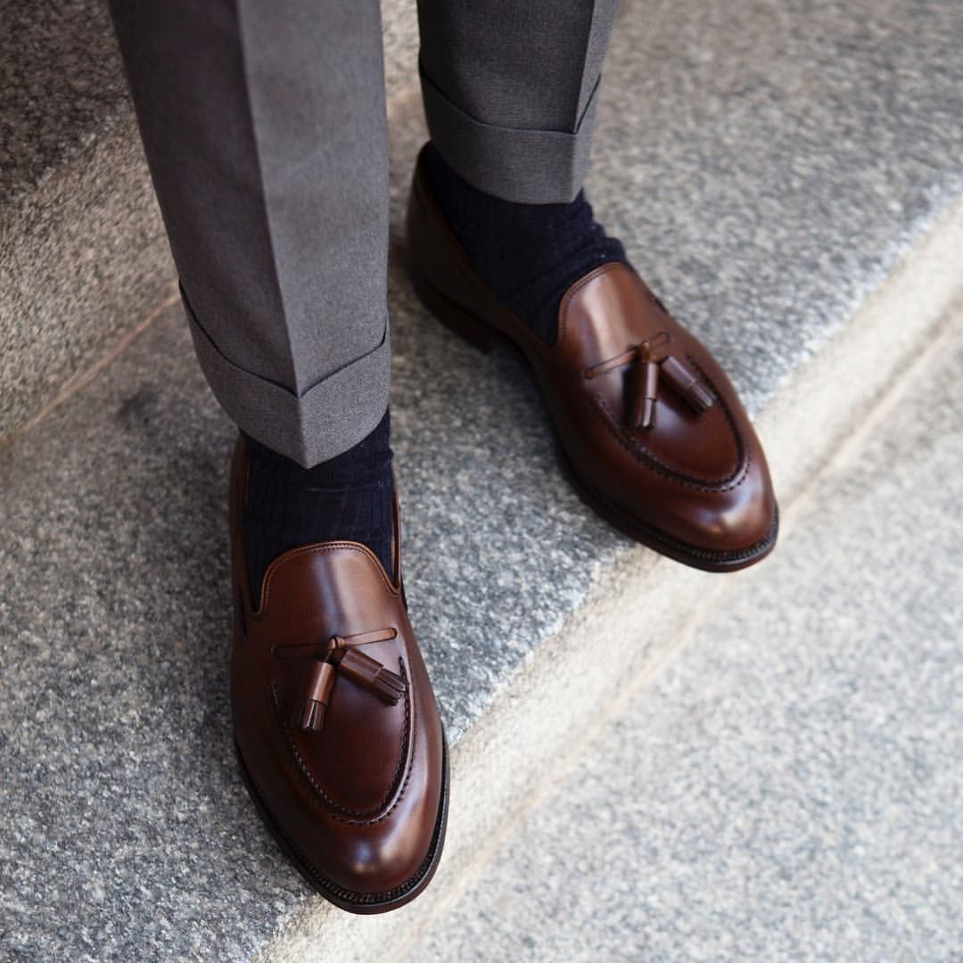 """a10facd02a8 roseandborn  """"Timeless. The Cavendish loafer from   crockettandjones official. You ll find it in a variety of leathers in  store and online."""