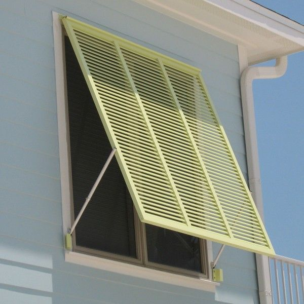 Bahama Shutters Are One-piece Shutters That Typically Are