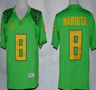 Oregon Ducks Jersey 8 Marcus Mariota 2013 Light Green Limited Jerseys Jersey Nba Sports Soccer Jersey