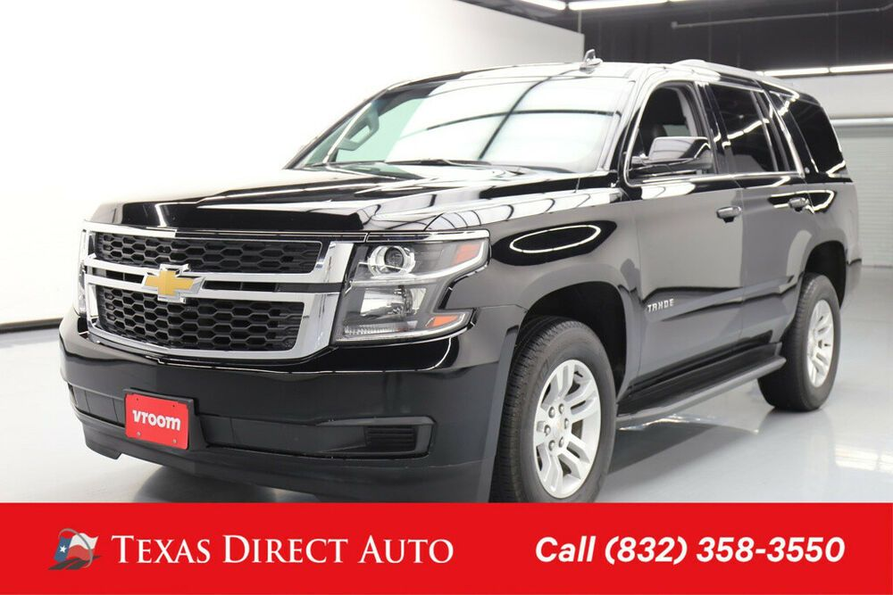 Ebay Advertisement 2018 Chevrolet Tahoe Lt Texas Direct Auto 2018