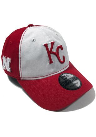 ba409eb3 New Era Kansas City Royals Mens Red Co Branded 9TWENTY Adjustable ...