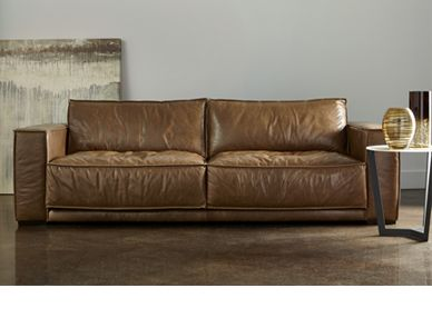 Exceptionnel Stanton Leather Sofa From American Leather.