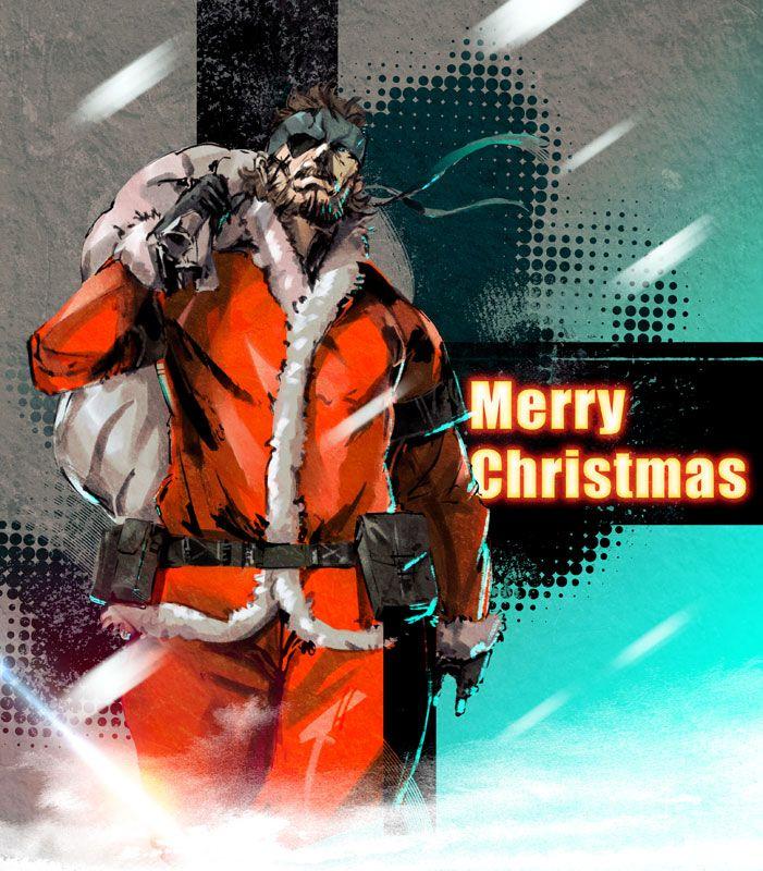 Santa Snake by ikuyoan on DeviantArt | Metal Gear Solid ...