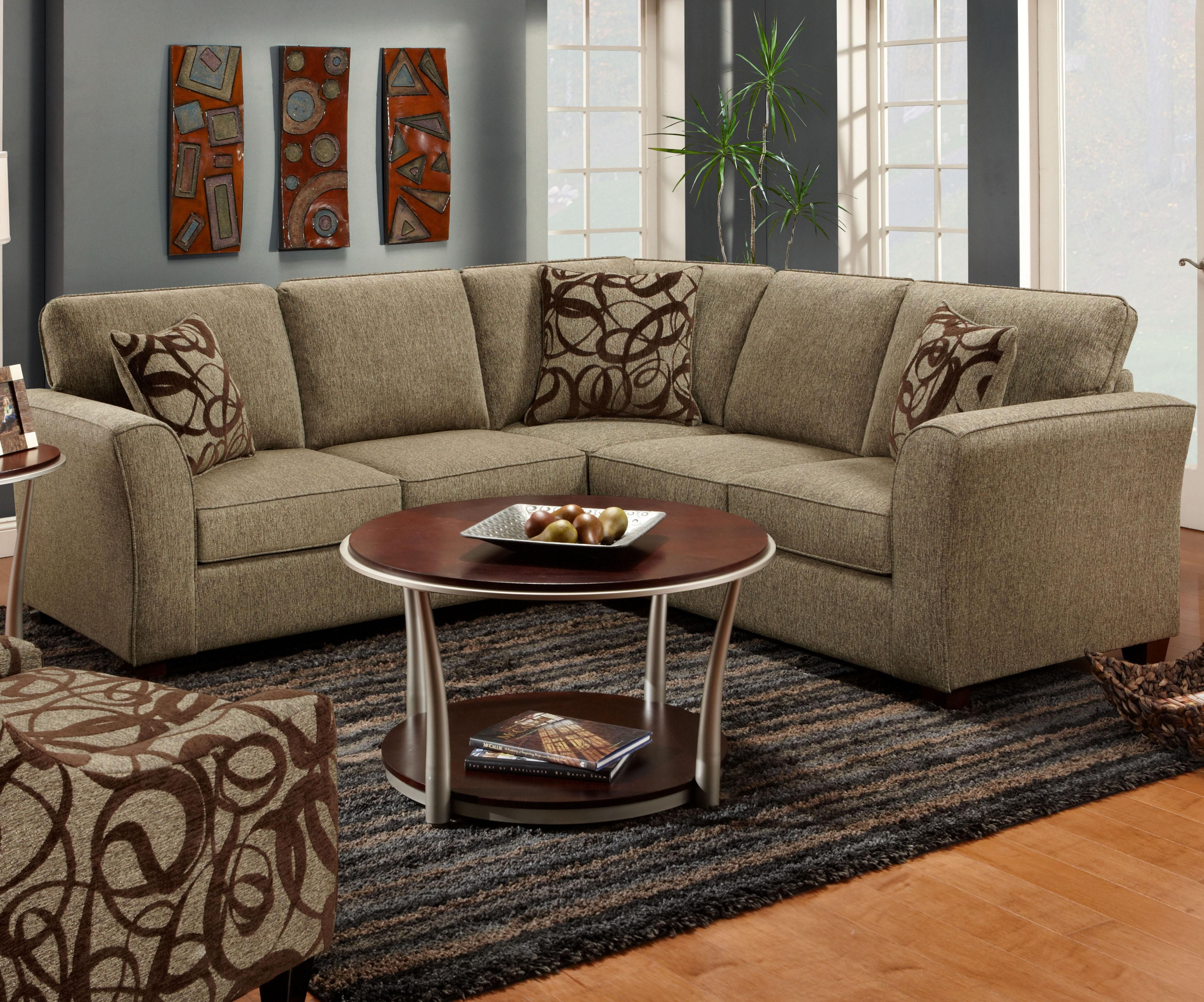 Marlo Furniture Living Room 1295 1296 2 Piece Sectional Sofa By Fusion Furniture For The
