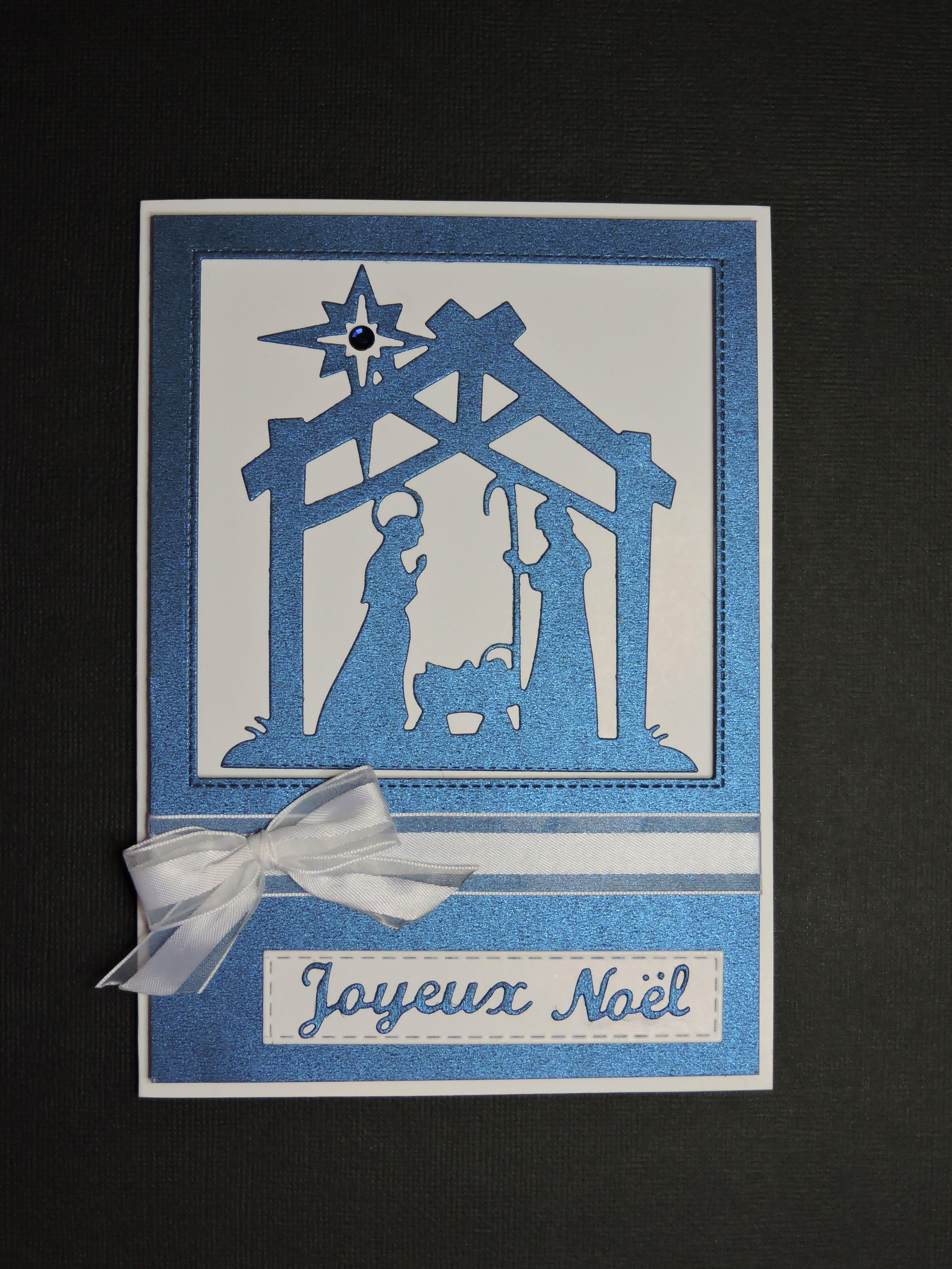 Carte de Noël fait avec découpe de crèche. | Home decor, Frame, Decor