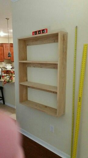 Floating Shelf With French Cleats Bookshelves Diy Floating Bookshelves Floating Shelves Diy