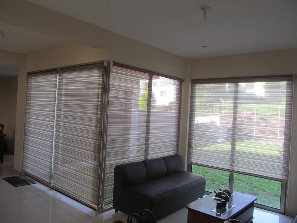 Sistema de cortinas esquineras y rinconeras en tejido de - Sistemas para cortinas ...