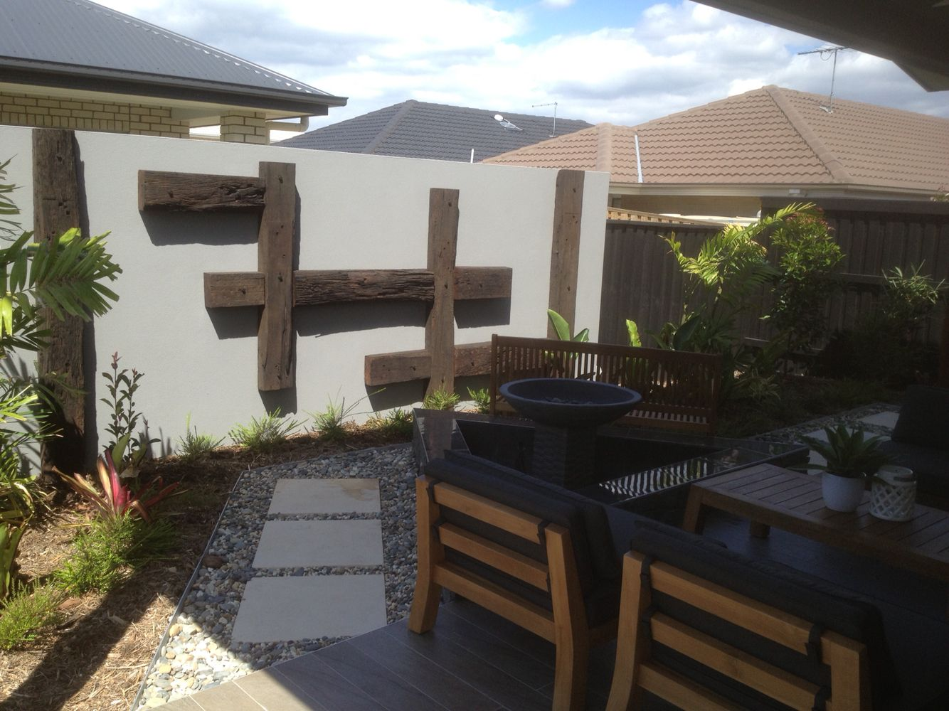 North Lakes display home by iLandscape Landscaping