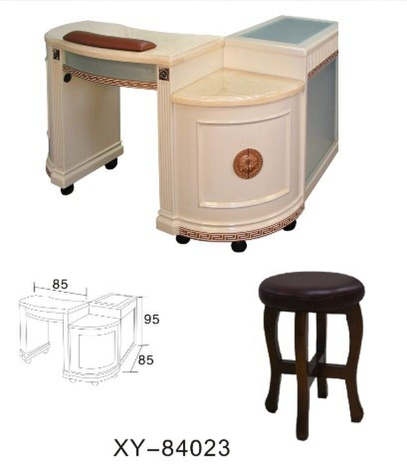 new style wholesale nail manicure table for beauty salon