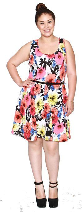 Hawaiian dress for plus size women