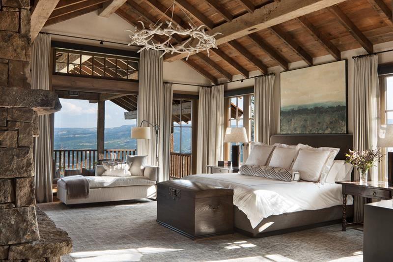 Rustic Luxury Blend Rustic Bedroom Mountain Bedroom Rustic